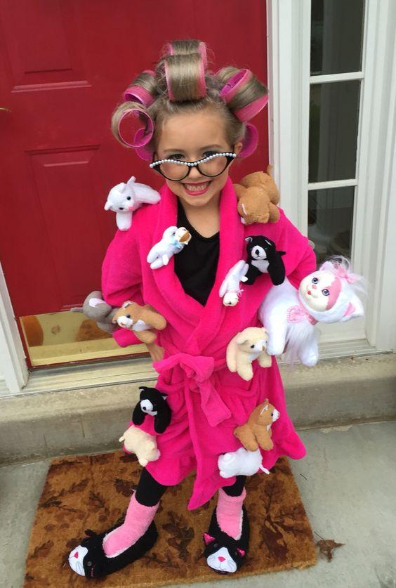 Crazy Cat Lady Costume.