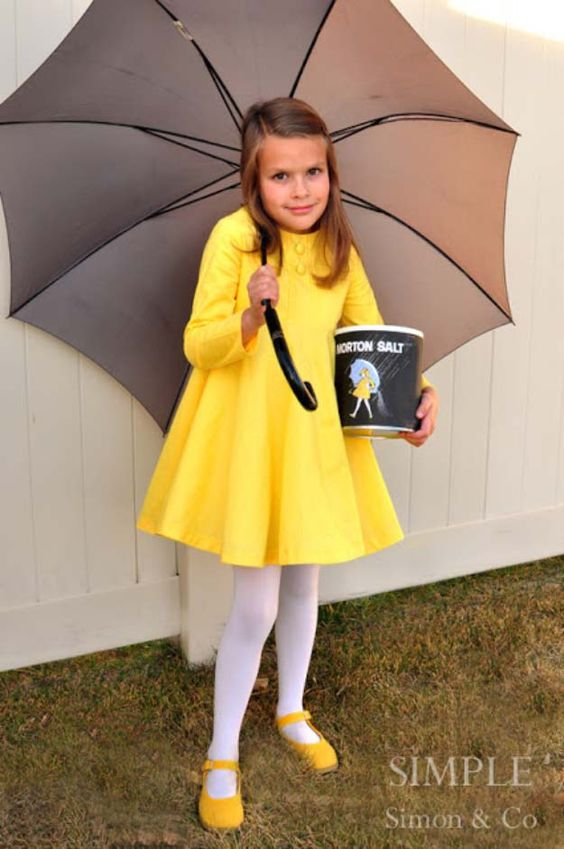 Morton Salt Girl Costume.