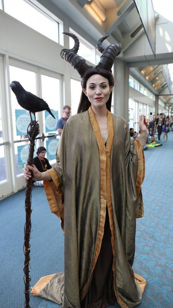 Maleficent Costume.