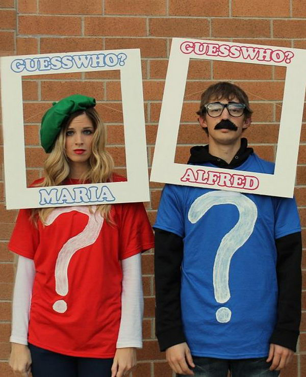 Guess Who costumes.