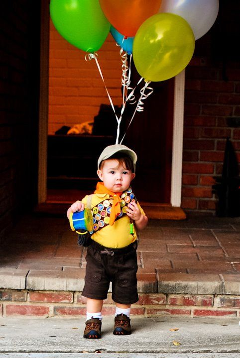 Up Russell Costume.