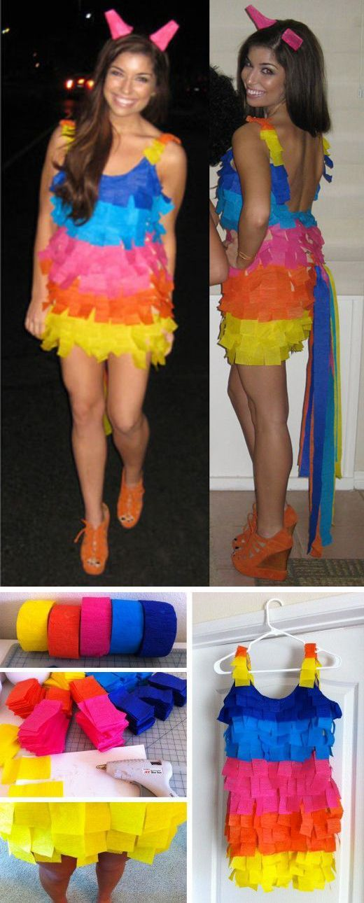 DIY Pinata Costume.