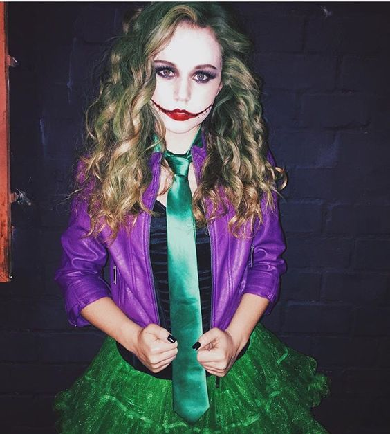Sexy Female Joker  sc 1 st  Styletic & 50+ Last Minute Halloween Costume Ideas