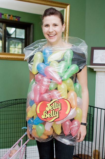 DIY Jelly Belly Costume.