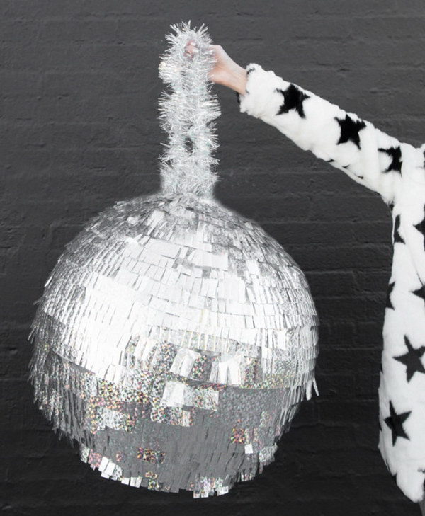 DIY Disco Ball Pinata