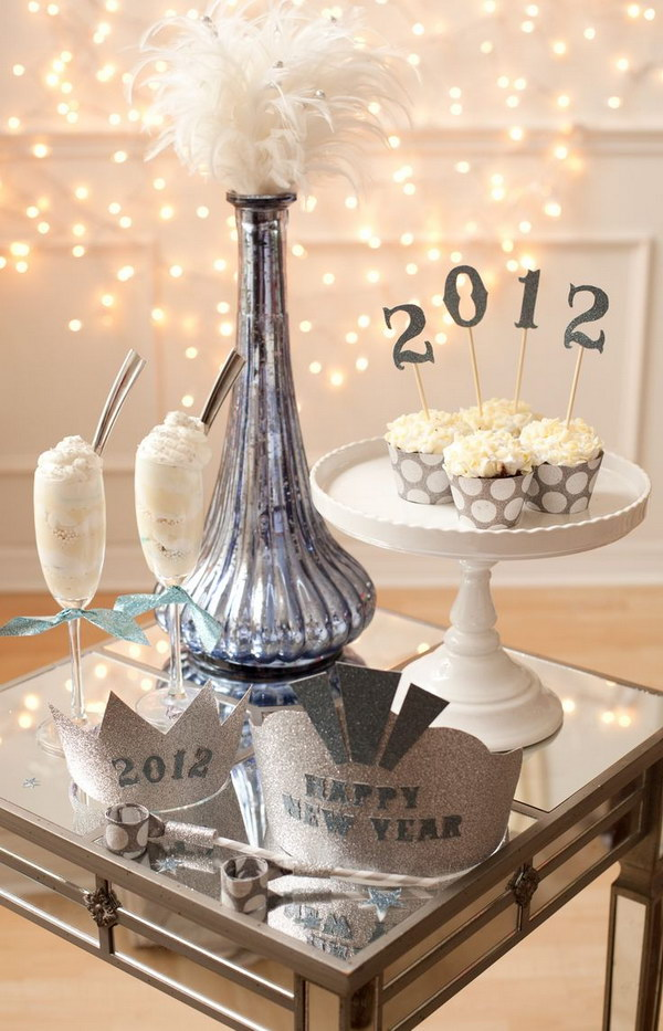 DIY NYE Tablescape