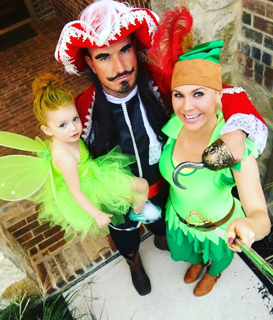 Peter Pan, tinker bell, and hook More.