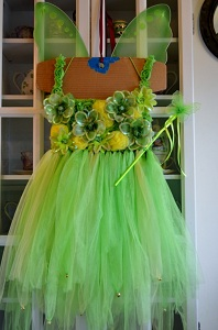 Amazing DIY Tinkerbell Costume.