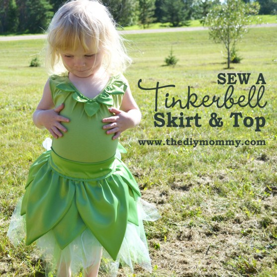 Sew a Tinkerbell Skirt & Top.