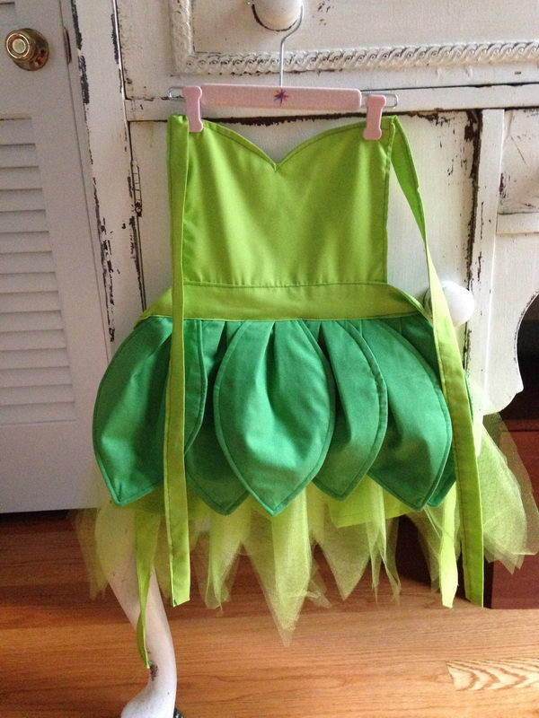 DIY Tinkerbell Dress Up Apron.