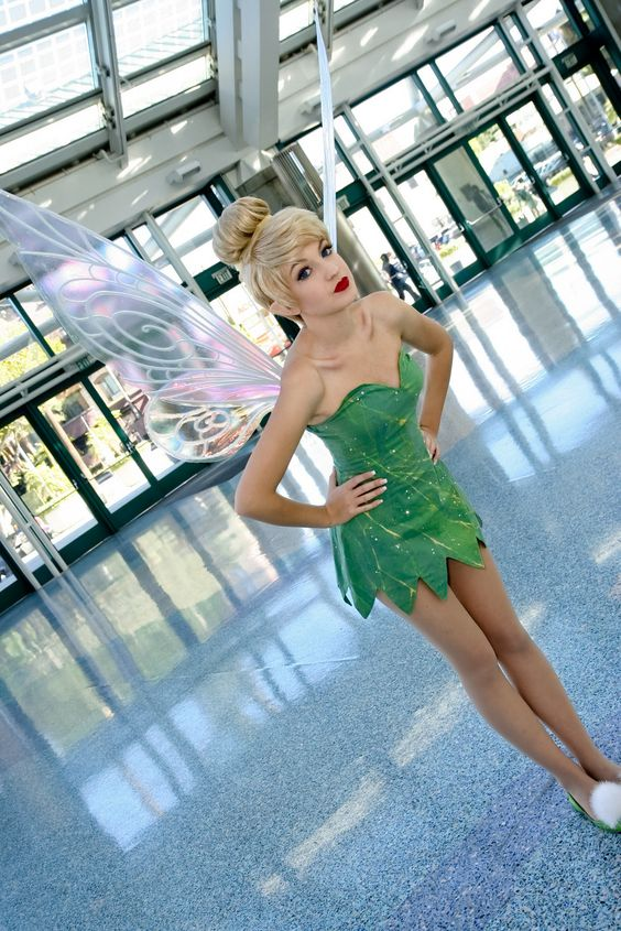 Cute Tinker Bell Costume.