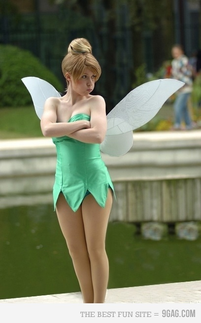 Tinkerbell costume for girls.