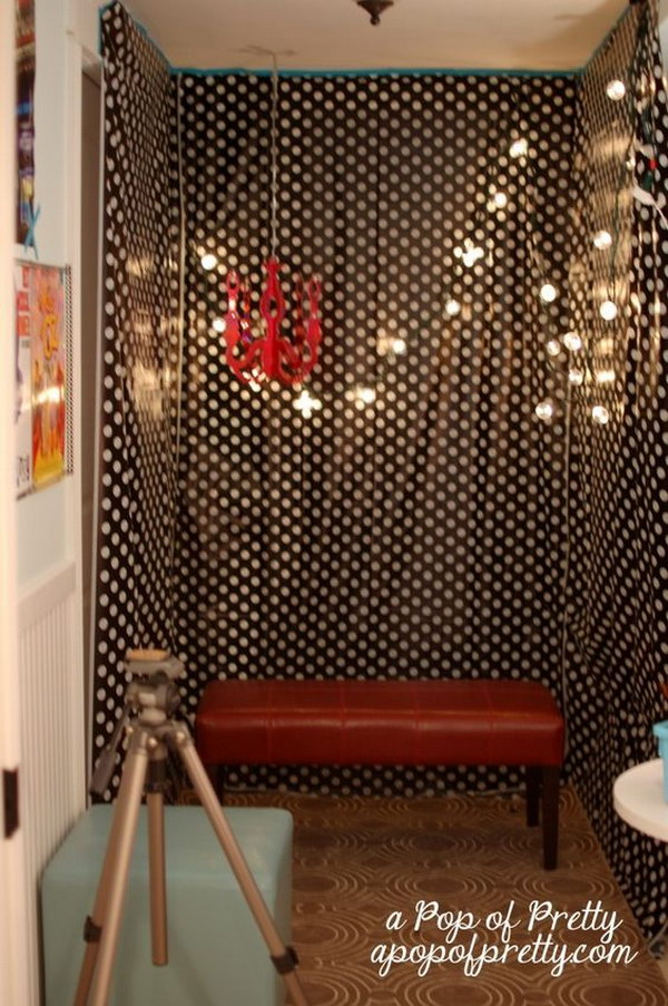 DIY Easy And Buget Friendly Photo Booth Tutorial