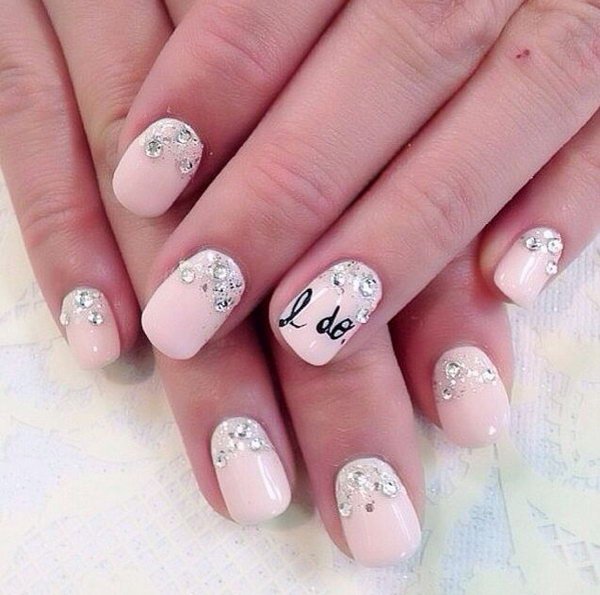 I Do Wedding Nail Art