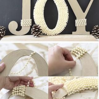 30 Festive JOY Christmas DIY Decorations