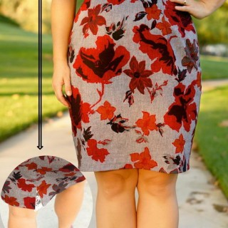 20+ DIY Pencil Skirt Tutorials