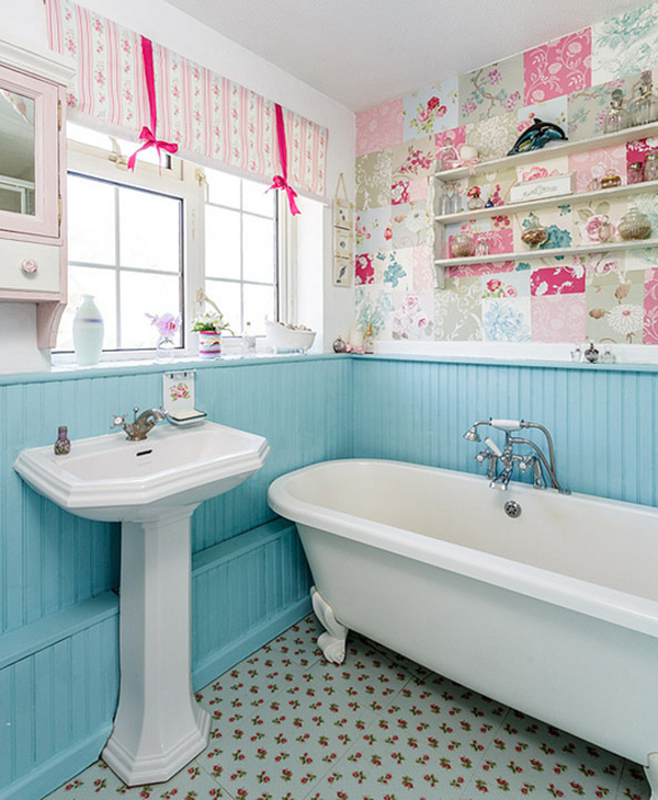 terrific shabby chic bathroom ideas | 50+ Amazing Shabby Chic Bathroom Ideas