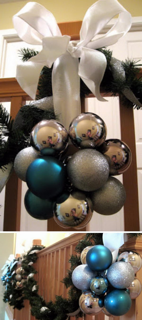 20+ Great Ways To Decorate Your Home With Christmas Ornaments ...