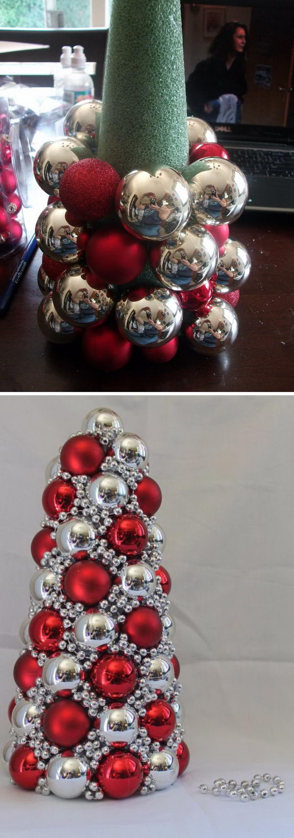 20 great ways to decorate your home with christmas ornaments for Diy christmas decorations for your home
