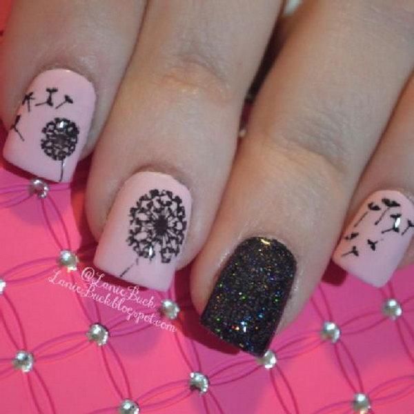 DIY Beauty  MoYou London Dandelion Nails. See the steps