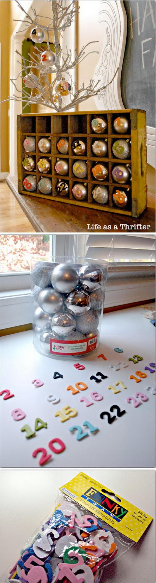 Soda Crate Advent Calendar.