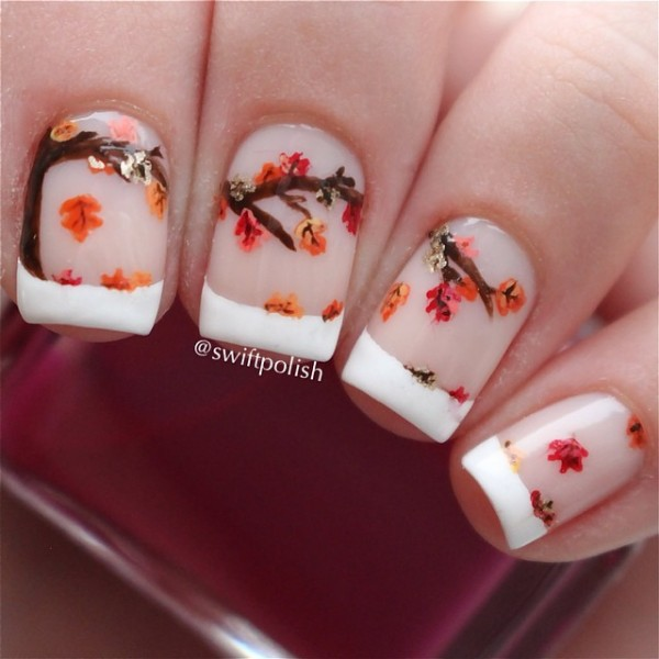 Simple Fall Nail Designs: Fall Nail Art Designs