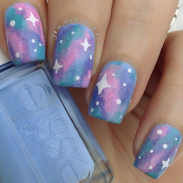 50 Gorgeous Galaxy Nail Art Designs and Tutorials