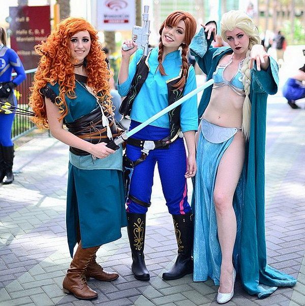 Star Wars meets Disney Halloween Costumes