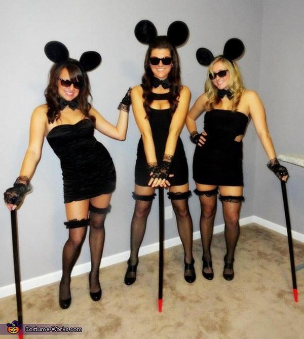 Three Blind Mice Halloween Costums & 35 Girlfriend Group Halloween Costume Ideas