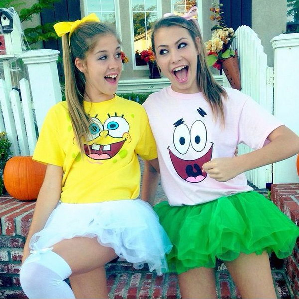 Spongebob and Patrick Best Friends Costumes