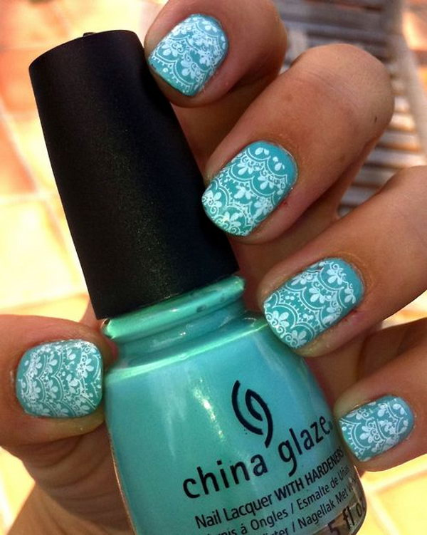 60 Lace Nail Art Designs \u0026 Tutorials For You To Get The