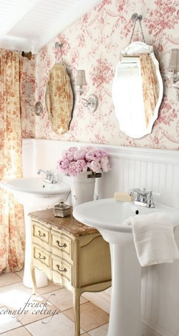 50 amazing shabby chic bathroom ideas for Shabby chic instagram