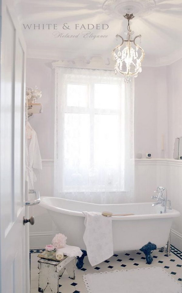 chic bathroom ideas 50 amazing shabby chic bathroom ideas 10984
