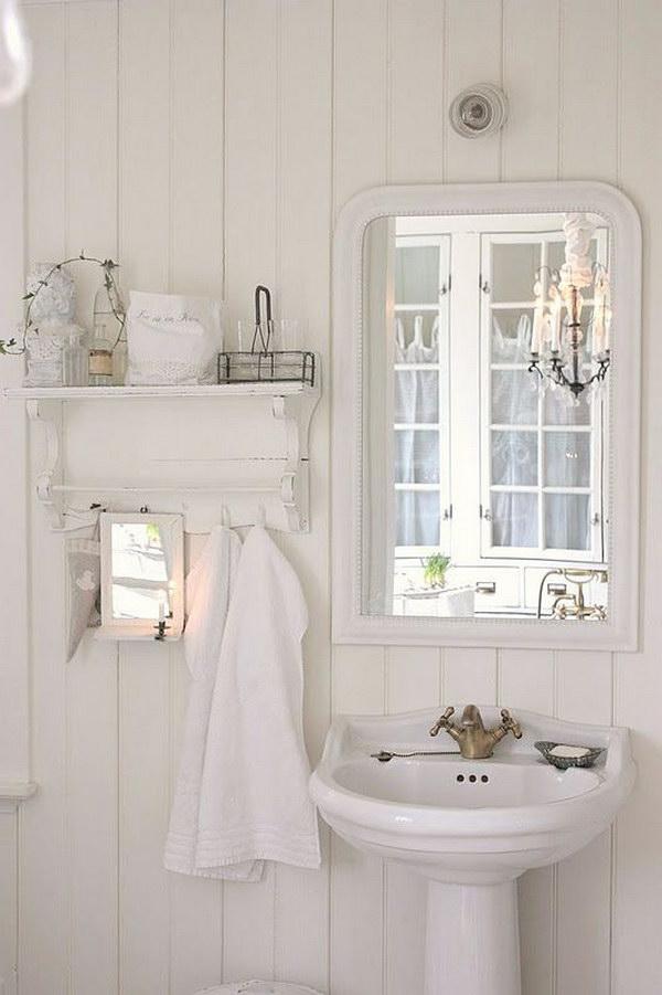 50+ Amazing Shabby Chic Bathroom Ideas | Styletic