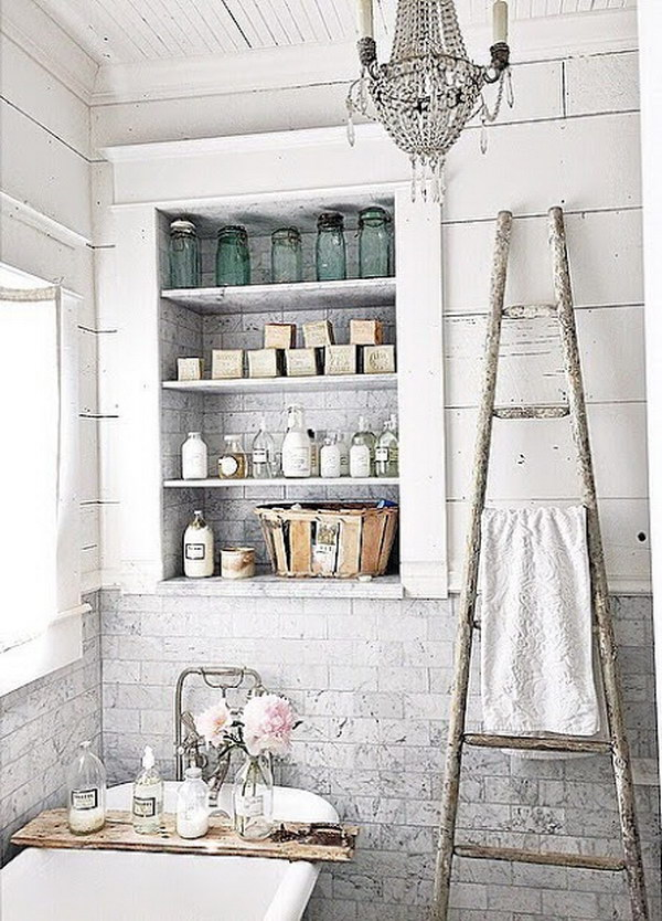 Chic Bathroom Decor 50+ amazing shabby chic bathroom ideas