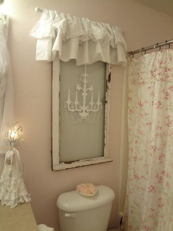 50 amazing shabby chic bathroom ideas for Commode style shabby
