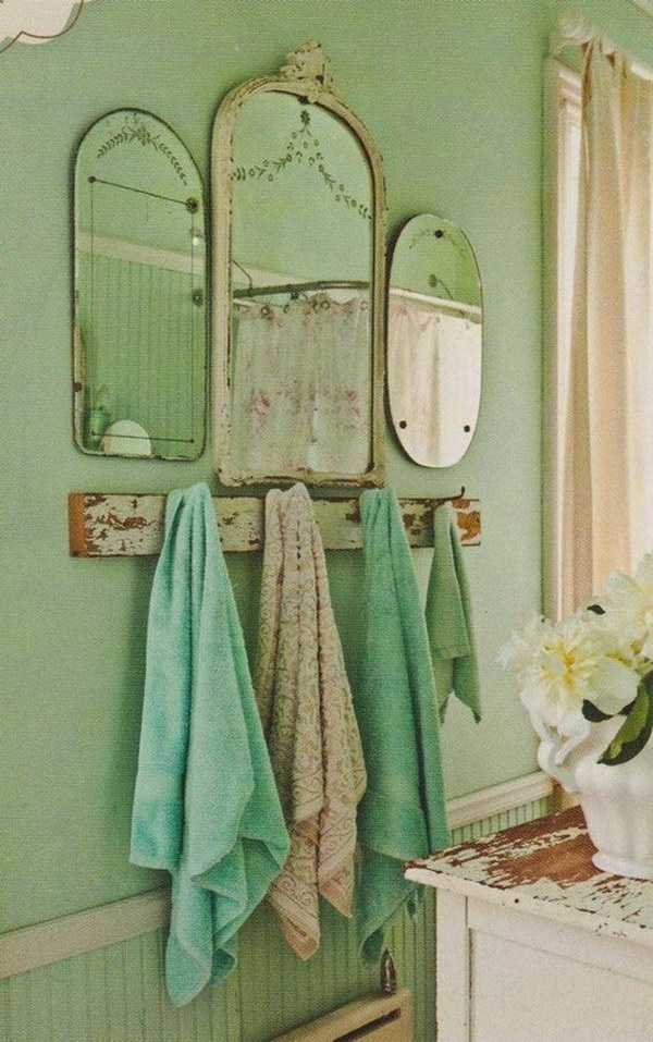 50+ Amazing Shabby Chic Bathroom Ideas | Styletic