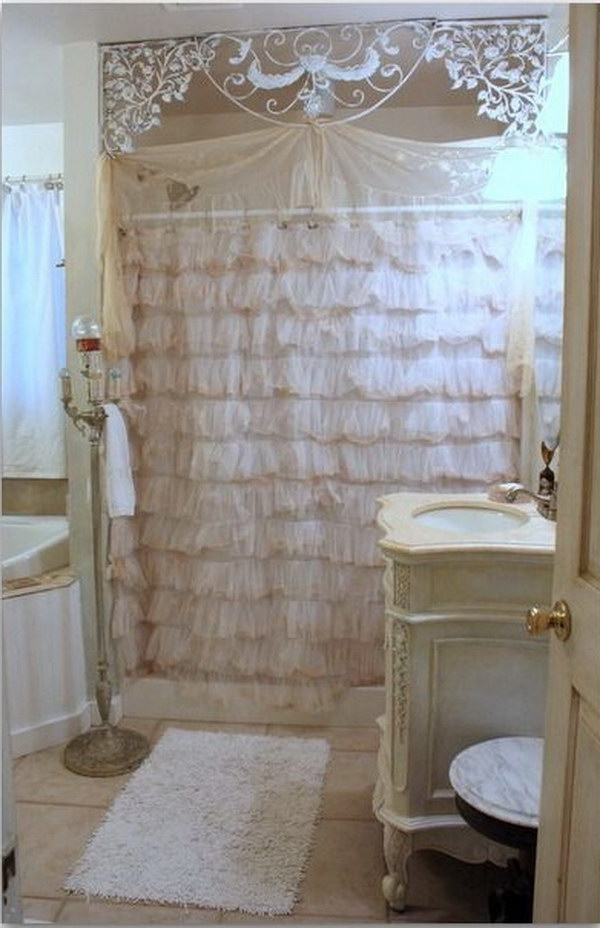 50 Amazing Shabby Chic Bathroom Ideas Styletic