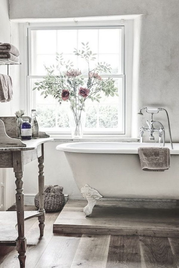 50 amazing shabby chic bathroom ideas for French shabby chic bathroom ideas