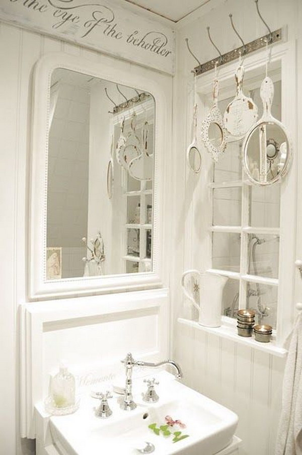 50 amazing shabby chic bathroom ideas 20338