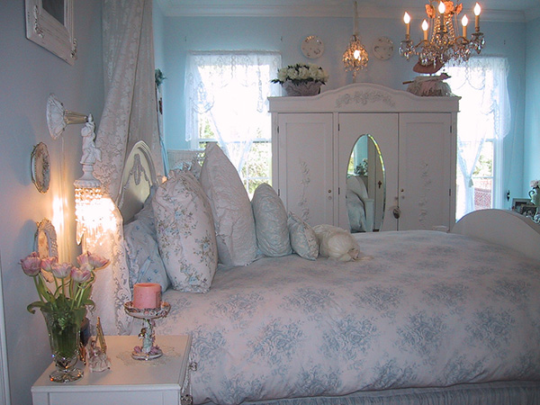 Shabby Chic Bedroom Wall Decor Ideas : Shabby chic bedroom ideas decor and furniture for