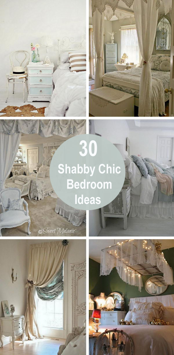 30 Shabby Chic Bedroom Ideas.