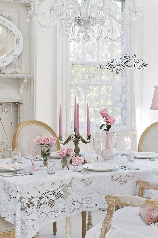 shabby chic dining room ideas awesome tables chairs and. Black Bedroom Furniture Sets. Home Design Ideas