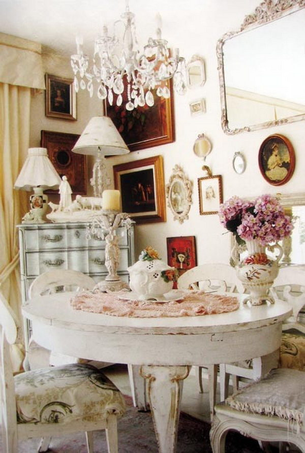 These Shabby Chic Decors Add A Wonderful
