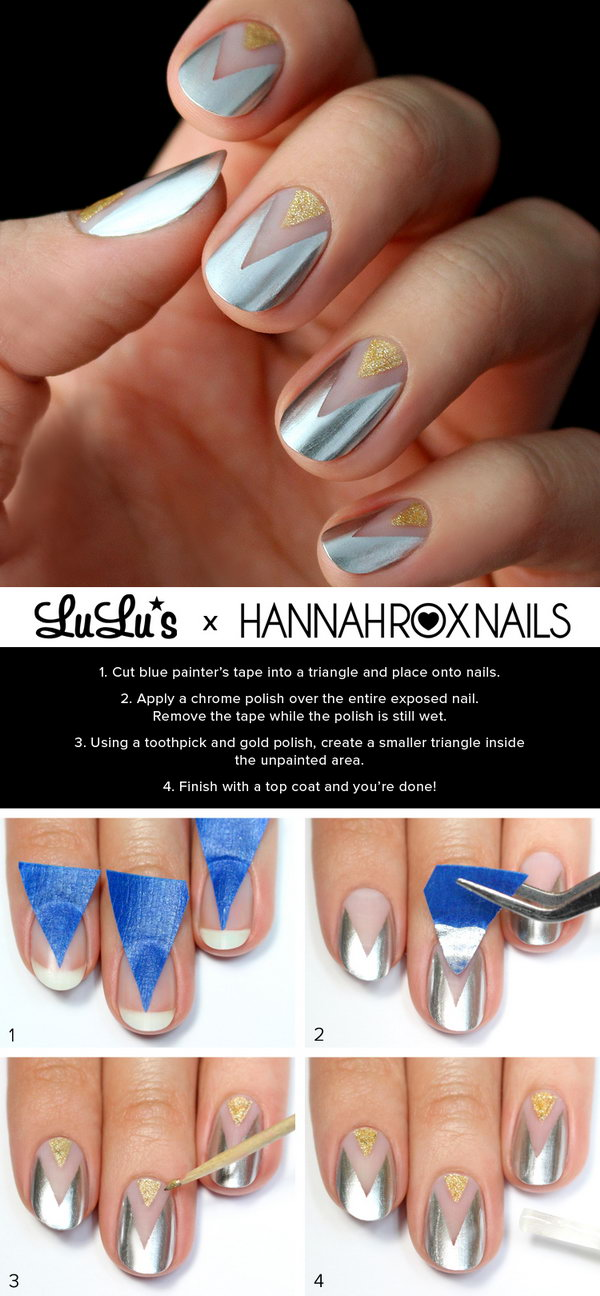 20+ Easy and Fun Step by Step Nail Art Tutorials