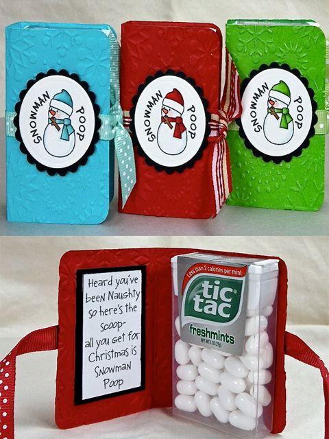 Snowman Poop Christmas Gift.