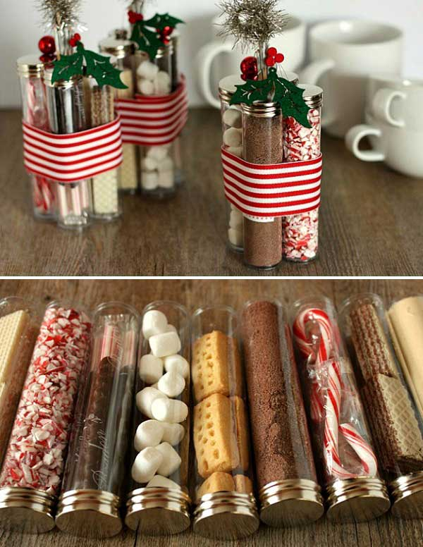Homemade Hot Cocoa Kits.