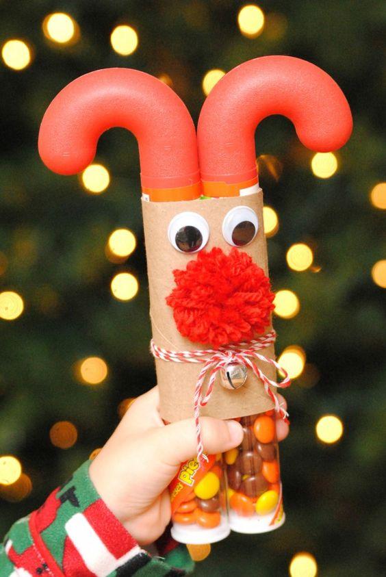 Candy Cane Reindeer.