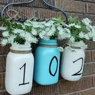 30+ Crative Ways To Display Your House Numbers