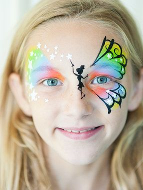 Fairy Face Paint.